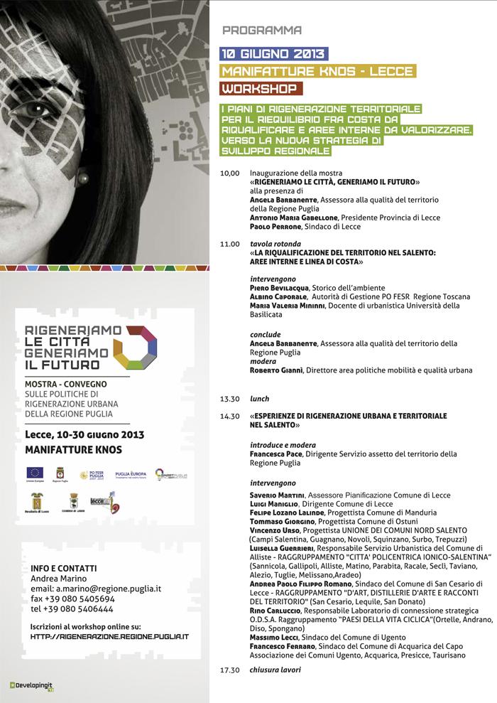 10 Giugno - workshop